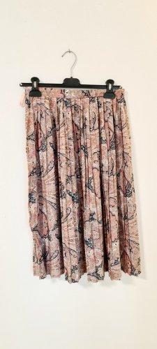 True Vintage Plaid Skirt multicolored