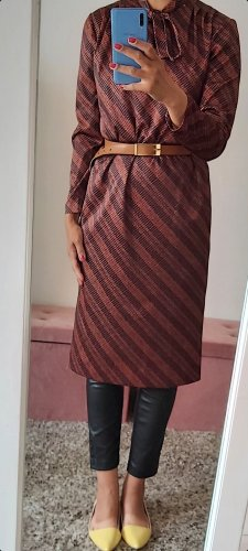 Vintage Midi Dress brown