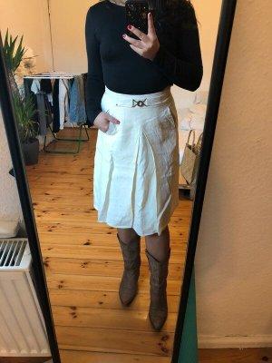 Aigner Midi Skirt cream-oatmeal