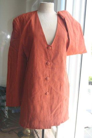 Vintage - MINX Design Eva Lutz  - Blazer Jacke Gr. 38 - kupfer -  90er
