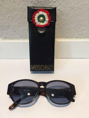 Moschino Gafas de sol marrón oscuro-color oro Material sintético