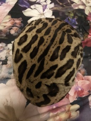 True Vintage Fur Hat multicolored