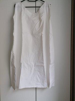Pyjama white-natural white linen
