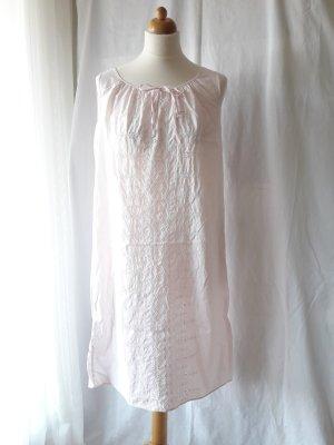 Vintage Nachthemd mit Lochstickerei rose