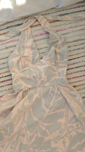 Vestido de cuello Halter multicolor Algodón