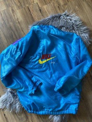 Nike Veste oversize bleu fluo