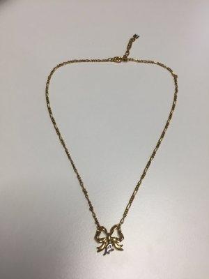 Vintage NINA RICCI Halskette mit Schleifen-Anhänger