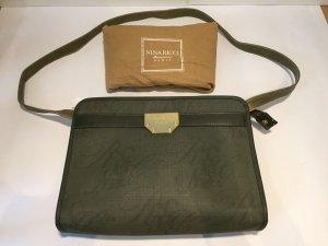 Vintage NINA RICCI Handtasche dunkelgrün