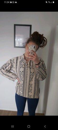 Vintage Jersey kimono beige claro