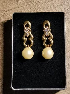 Vintage Ohrringe aus Verlassenschaft mit Perlen