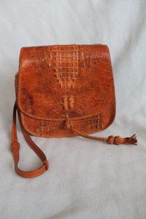 Shoulder Bag brown-cognac-coloured