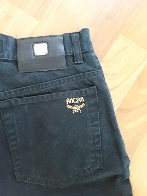 Vintage Original MCM Karotten / Boyfriend Jeans, Gr. 27 (36), schwarz