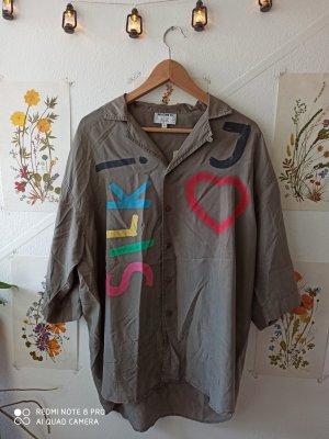 Otto Kern Zijden blouse veelkleurig