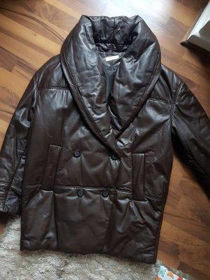 Vintage Oversize Jacke / Mantel aus Leder