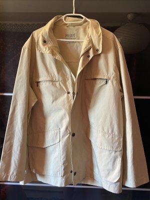 Vintage Oversized Jacke hellbraun
