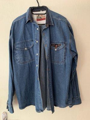 Vintage Oversized Jeans Jacke