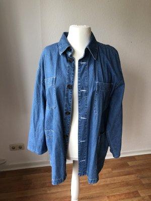 Vintage Camicia denim blu