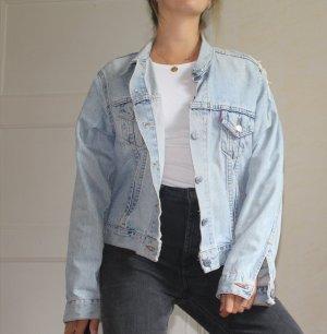 Vintage oversized jeansjacke