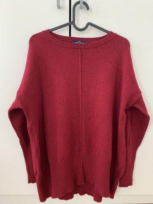 Blue Joint Maglione di lana rosso scuro