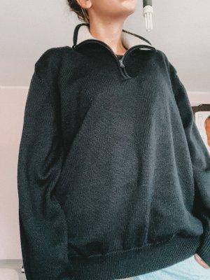 Vintage Oversized Sweater dark blue