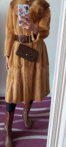 Vintage Pelt Coat sand brown-beige
