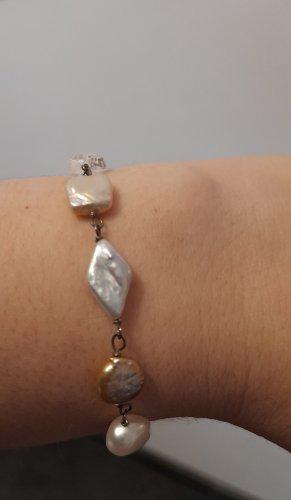 Armband met parels veelkleurig