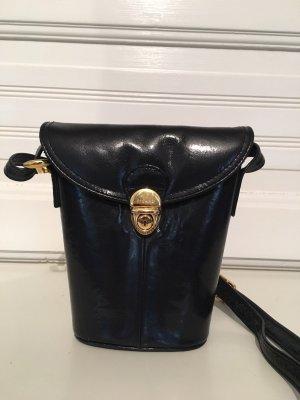 Picard Mini sac bleu foncé-doré cuir