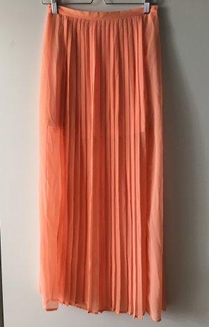 Vintage Jupe plissée multicolore