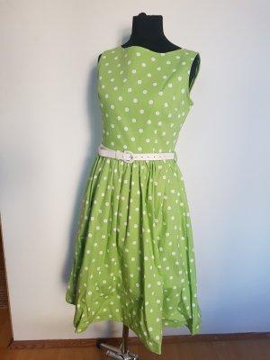 Vintage Polkadot Kleid