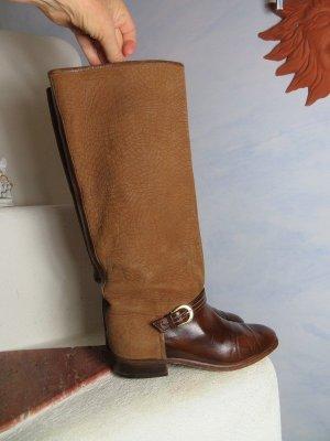 Pollini Jackboots multicolored leather