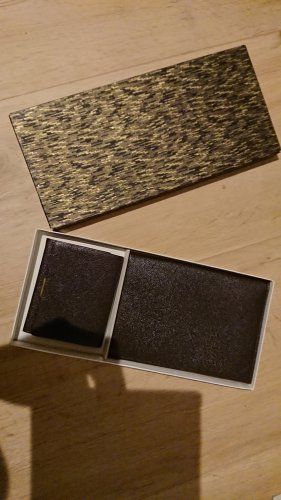Vintage Portemonnaie und Brieftasche