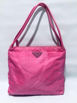 Vintage PRADA Handtasche Nylon in Pink