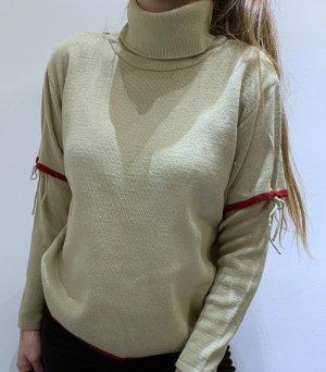 Vintage Pullover mit Ärmeldetail
