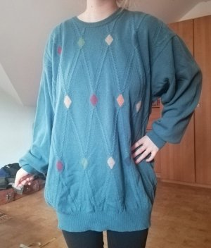 Vintage Pullover Wolle oversized