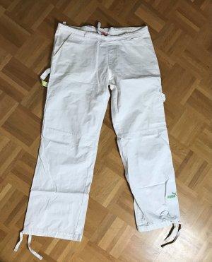 Puma Pantalon en jersey blanc
