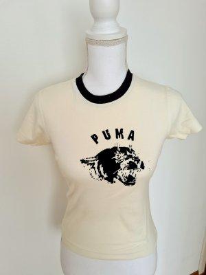 Vintage Puma T-Shirt Oberteil Top Gr. 36