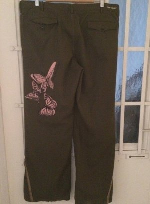 Punk Royal Baggy Pants khaki cotton