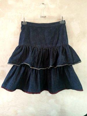 Miniskirt dark blue