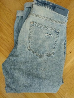 H&M Jeansy z prostymi nogawkami jasnoniebieski