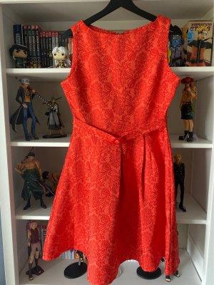 Banned Retro Sukienka z halką Wielokolorowy Poliester