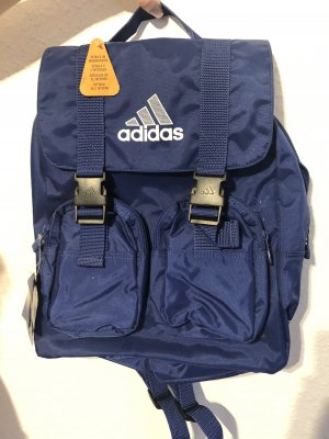 Adidas Trekking Backpack blue-silver-colored
