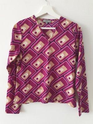 Blind Date Slip-over blouse veelkleurig