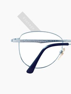 Vintage Retro Brille mit Stärke Silber 80'er Opa Nerd bill Gates 80er mens | unisex