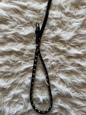 Studded riem zwart
