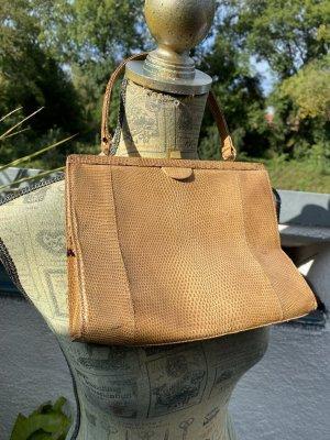 Vintage  Retro  Tasche  Leder braun Klassisch