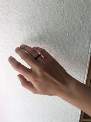 Vintage Statement ring zwart