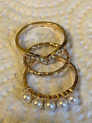 Vintage ring gr 16/54 Perlen Armband