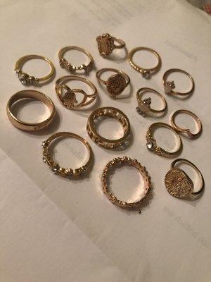 Vintage Ringe gr 15-19 mm