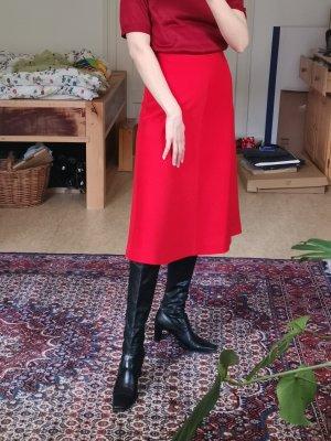 True Vintage Spódnica midi czerwony