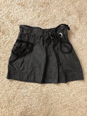 Morgan Skaterska spódnica taupe-antracyt